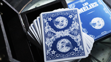 Load image into Gallery viewer, Les Melies Conquest Blue Playing Cards by Pure Imagination Projects