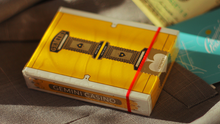 Load image into Gallery viewer, Sold Out Gemini Casino Yellow Playing Cards (Featured Product)