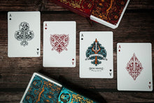 Load image into Gallery viewer, 1 of 2000 Eternal Reign Ruby and Saphire 2 Decks by Riffle Shufle (Featured Product)