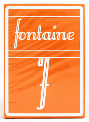 Fontaine Pumpkin Playing Cards