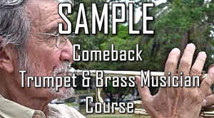Sample the 20 Week Comeback Trumpet & Brass Musician Course