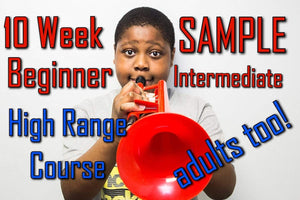 Sample The 10 Week Beginner-Intermediate Upper Register Course for Trumpet and all Brass Players - Trumpetsizzle