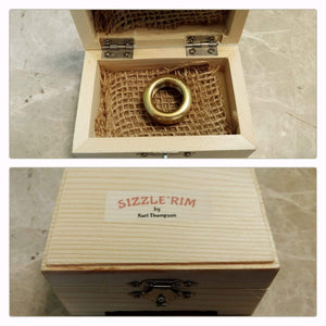Sizzle*Rim™ Rim Buzzing Device For Trumpet Players by Kurt Thompson