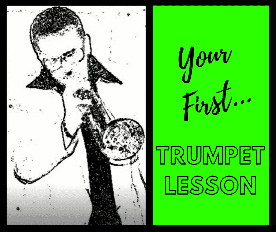 The Very First Trumpet Lesson For Adult or Child - 5 minute tutorial