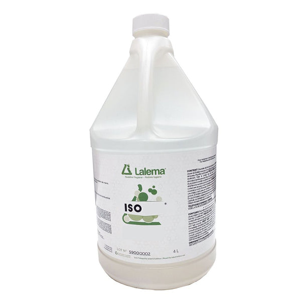 LIQUID HAND SANITIZER (4L BOTTLE) - ISO WITH PUMP (NO GEL)