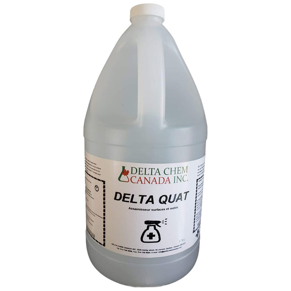 DELTA QUAT SURFACE DISINFECTANT (4L BOTTLE)