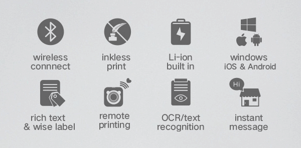paperang printer features