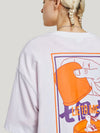 Lie To Me Dice Tee in White