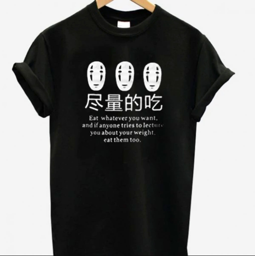 Spirited Away Eat Everything Tee