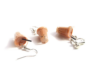 Milk Tea Boba Drop Earrings