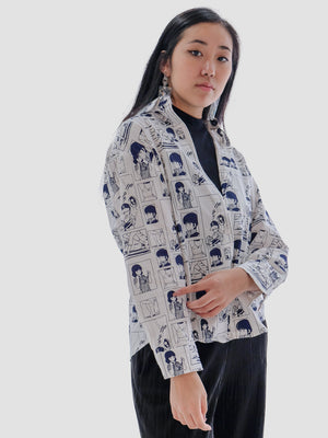 Wear Your Anime Button Up