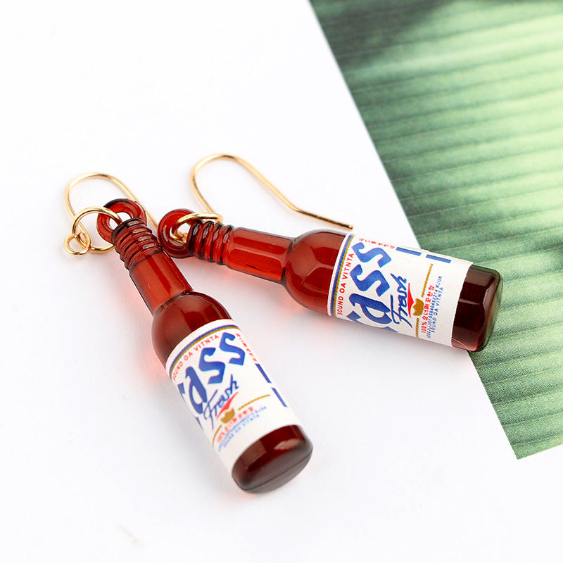 Cass Beer Drop Earrings