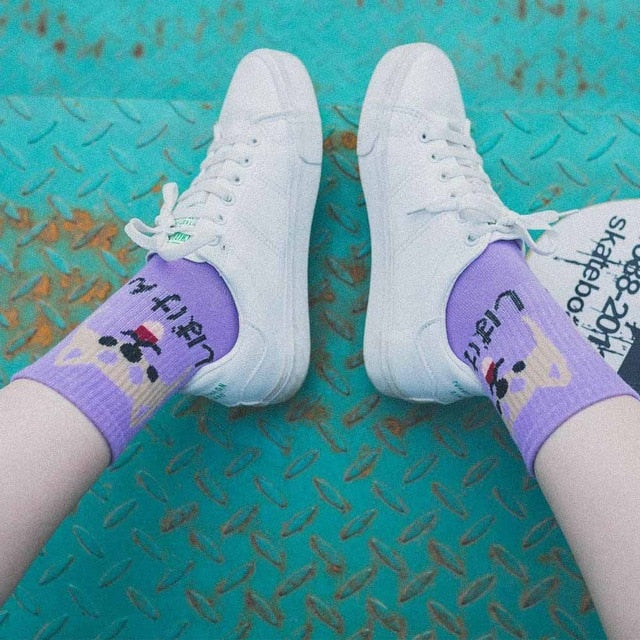 Kawaii Corgi Unisex Socks
