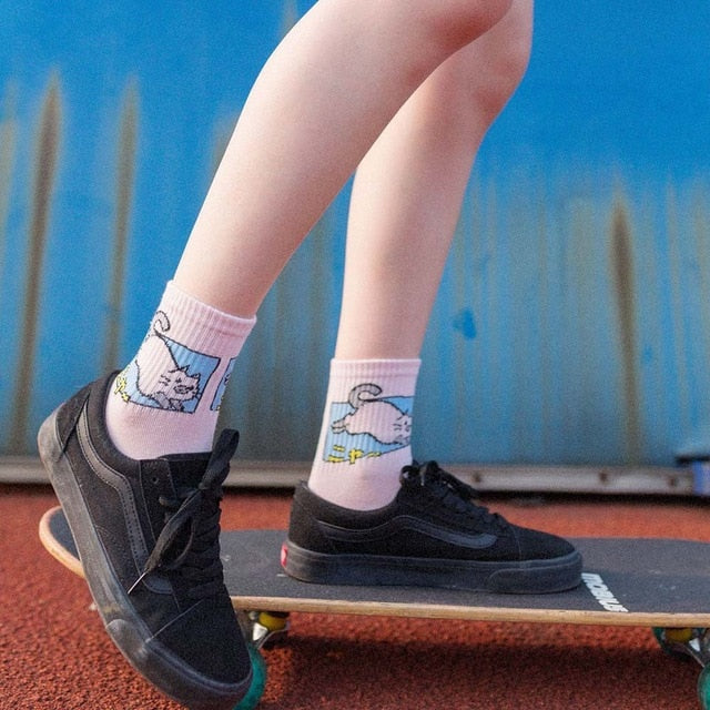 Kawaii Cat Unisex Socks