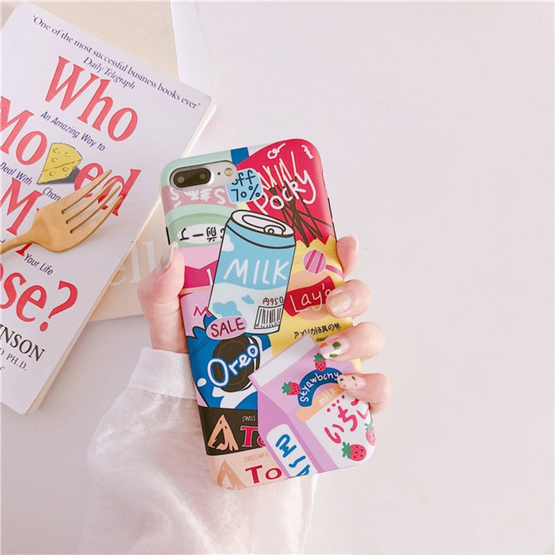 Cute Japanese Snacks Phone Case