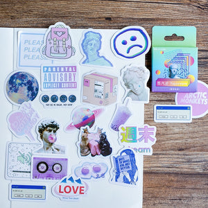 Cute Vaporwave Vibes Stickers