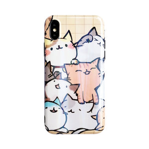 Holographic Cats! Phone Case