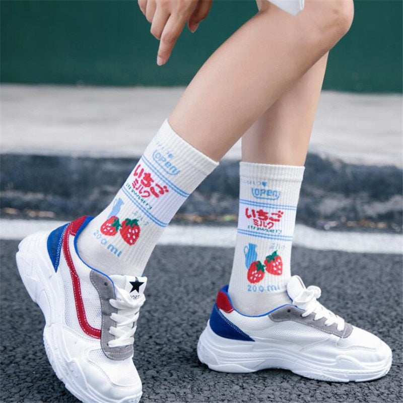 Japanese Milk Socks