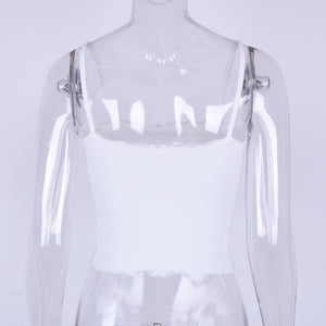 "Frilled ""Virgo"" Goddess Crop Top"