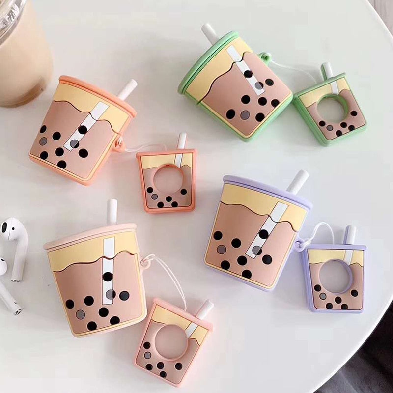 100% Sugar Bubble Tea AirPods Case