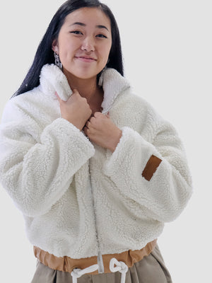 Yetis are Real Jacket in White