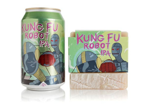 Kung Fu Robot Brew Bar Soap