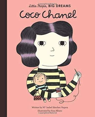 Coco Chanel - Little People Big Dreams Book