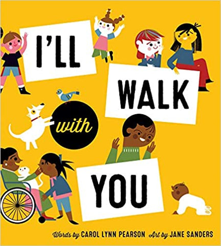 I'll Walk With You - Children's Book
