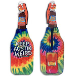 Keep Austin Weird Party Popper Bottle Koozie