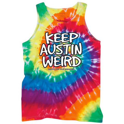 Keep Austin Weird Unisex Tank Top