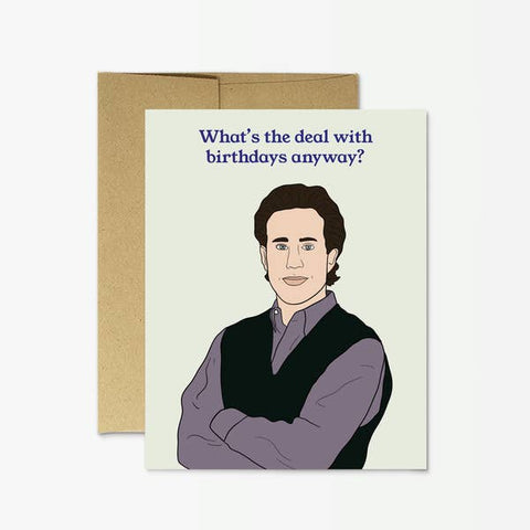 Seinfeld Birthday Greeting Card