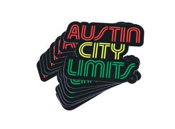 Austin Blanks ACL Rasta Sticker