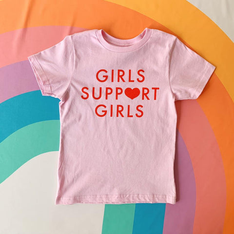 Youth Girls Support Girls Tee