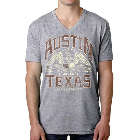 ATX Eagle Men's V-Neck Tee