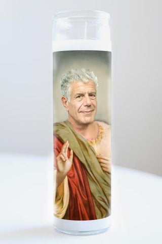 Anthony Bourdain Illuminidol Candle