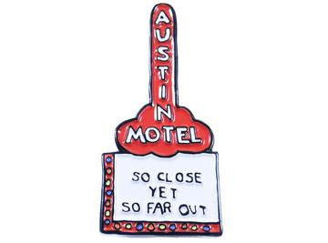 Austin Blanks Austin Motel Lapel Pin