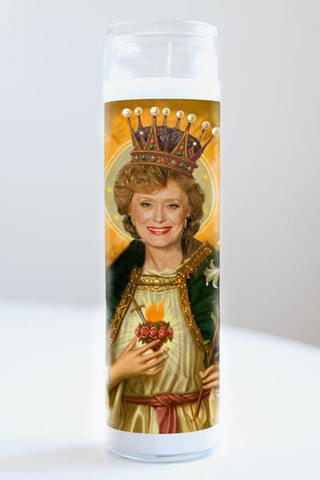 Blanche (Golden Girls) Illuminidol Candle