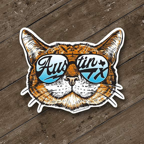 Shady Cat Decal