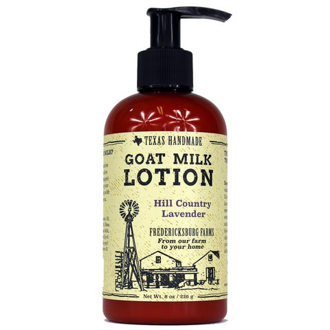 Hill Country Lavender Goat Milk Lotion (8 oz.)