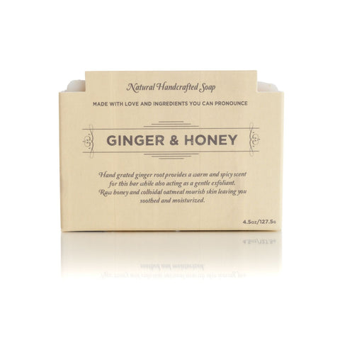 Ginger & Honey Bar Soap