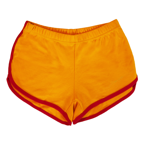 Retro Yellow/Red Athletic Shorts