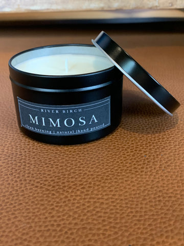 Mimosa  - Tin Soy Candle