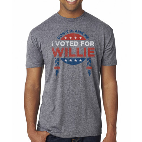 I Voted For Willie Unisex Tee
