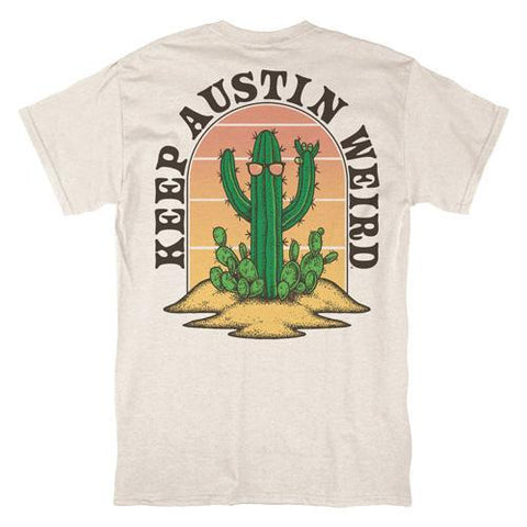 Keep Austin Weird Cactus Tee