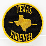 Texas Forever Round Patch