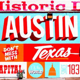 Austin Cutting Board – South Austin Gallery