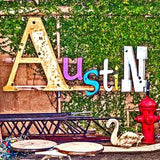 Austin Ceramic Coaster – South Austin Gallery