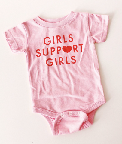 Girls Support Girls Onesie | Daisy Natives