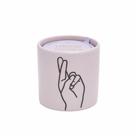 """Fingers Crossed"" Impressions Candle"