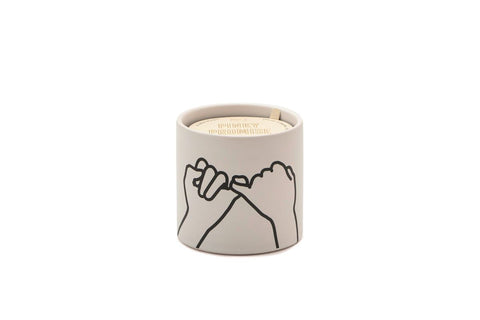 "Paddywax ""Pinky Promise"" Impressions Candle"